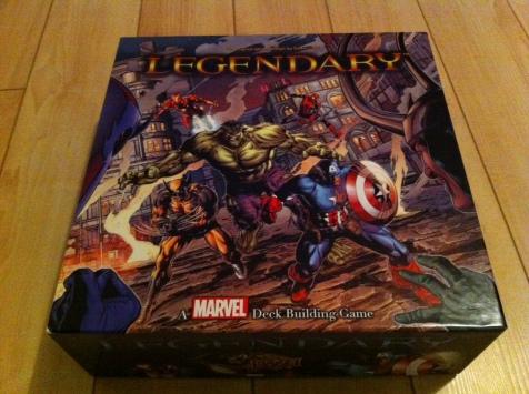 Legendary: A Marvel Card Game