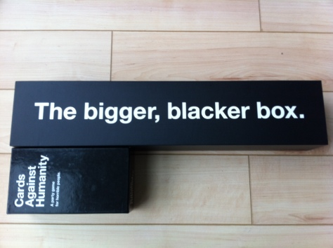 The Bigger Blacker Box