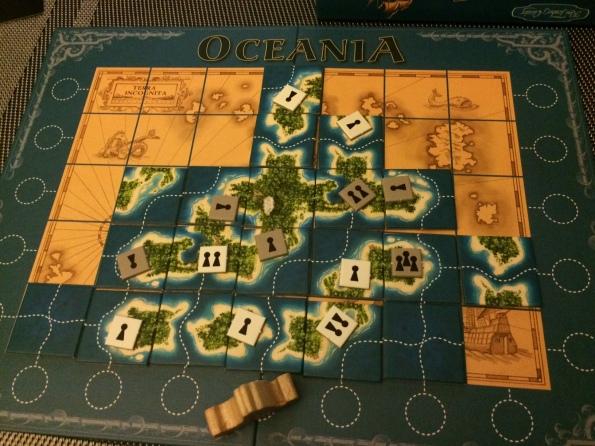 Oceania Board Game