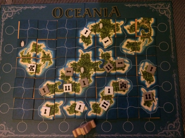 Oceania Board Game