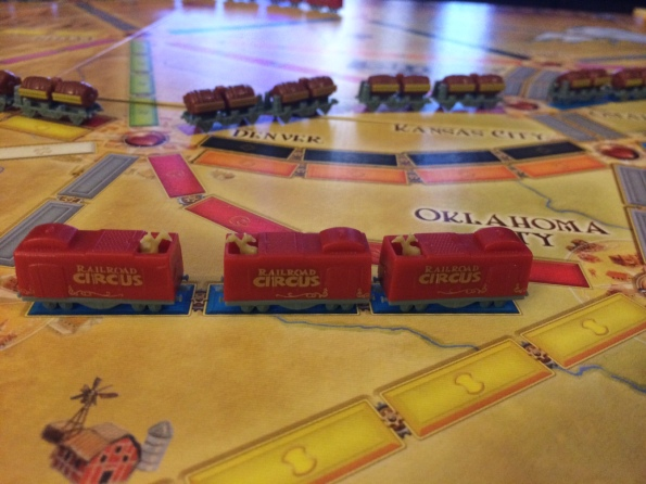 Ticket to Ride 10th Anniversary Edition Trains