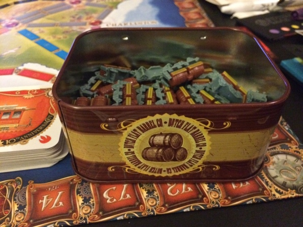 Ticket to Ride 10th Anniversary Edition Tin