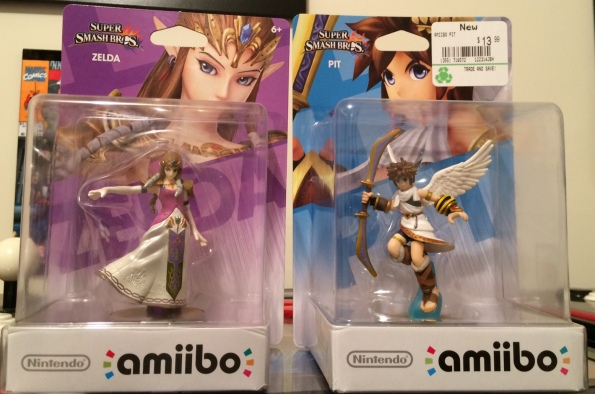 Amiibo Princess Zelda Pit