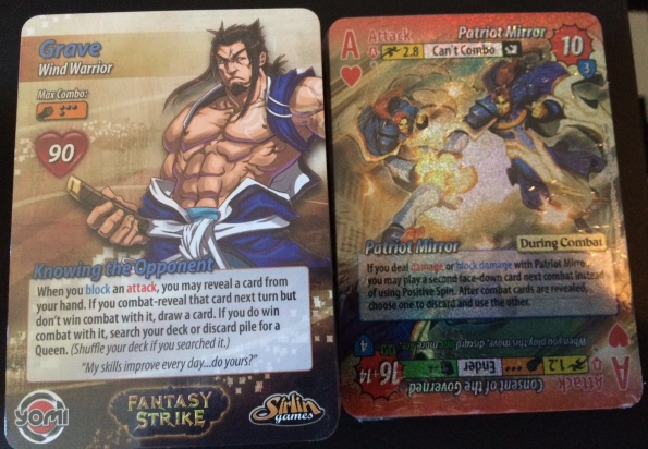 Yomi v2 cards and foil aces