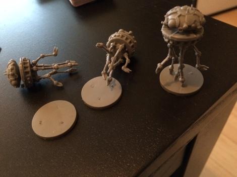 Star Wars Imperial Assault Broken Probe Droids