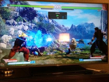 Street Fighter V Ken Training