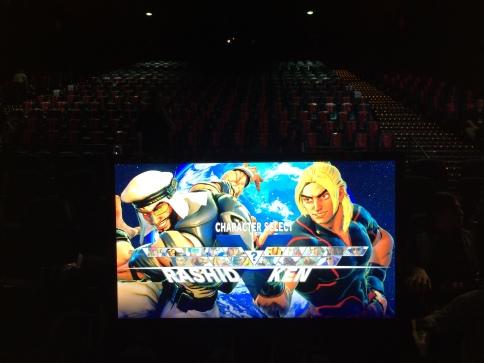 Street Fighter V Warm-Ups