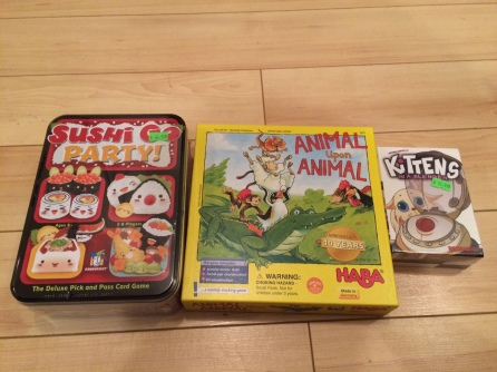 Sushi Go Party Animal Upon Animal Kittens in a Blender
