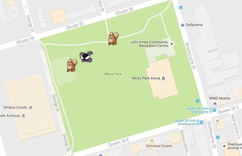 Pokemon Go Moss Park
