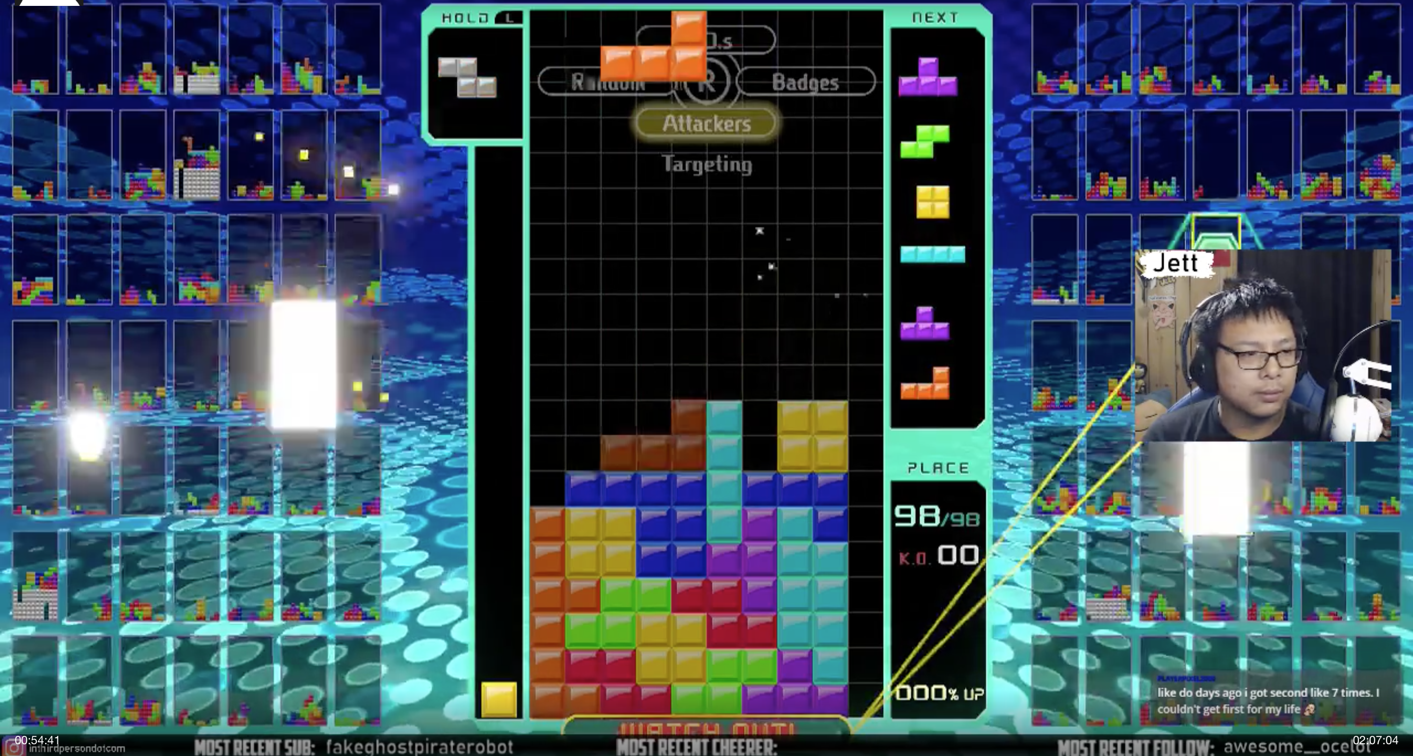 Tetris 99 and the Notion of Streaming Only One Game – In